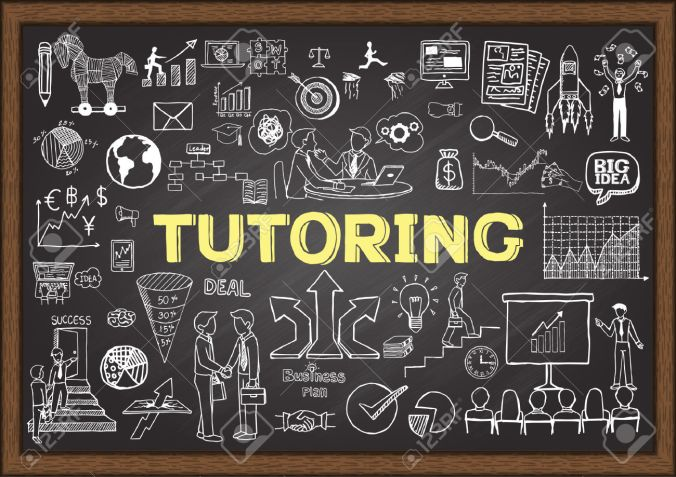 41742498-Doodles-about-tutoring-on-chalkboard-Stock-Vector-tutoring-coaching-youth